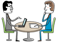Illustration material: business conference meeting meeting [4418410] business