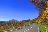 Autumn of Bandai Azuma Skyline Stock photo [4424388] Autumn