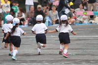 Kindergarten athletic meet (foot race) Stock photo [4428901] Foot