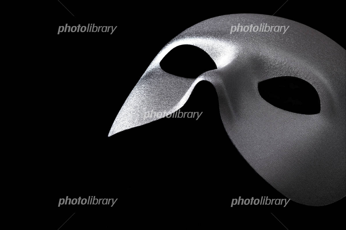Silver mask Photo