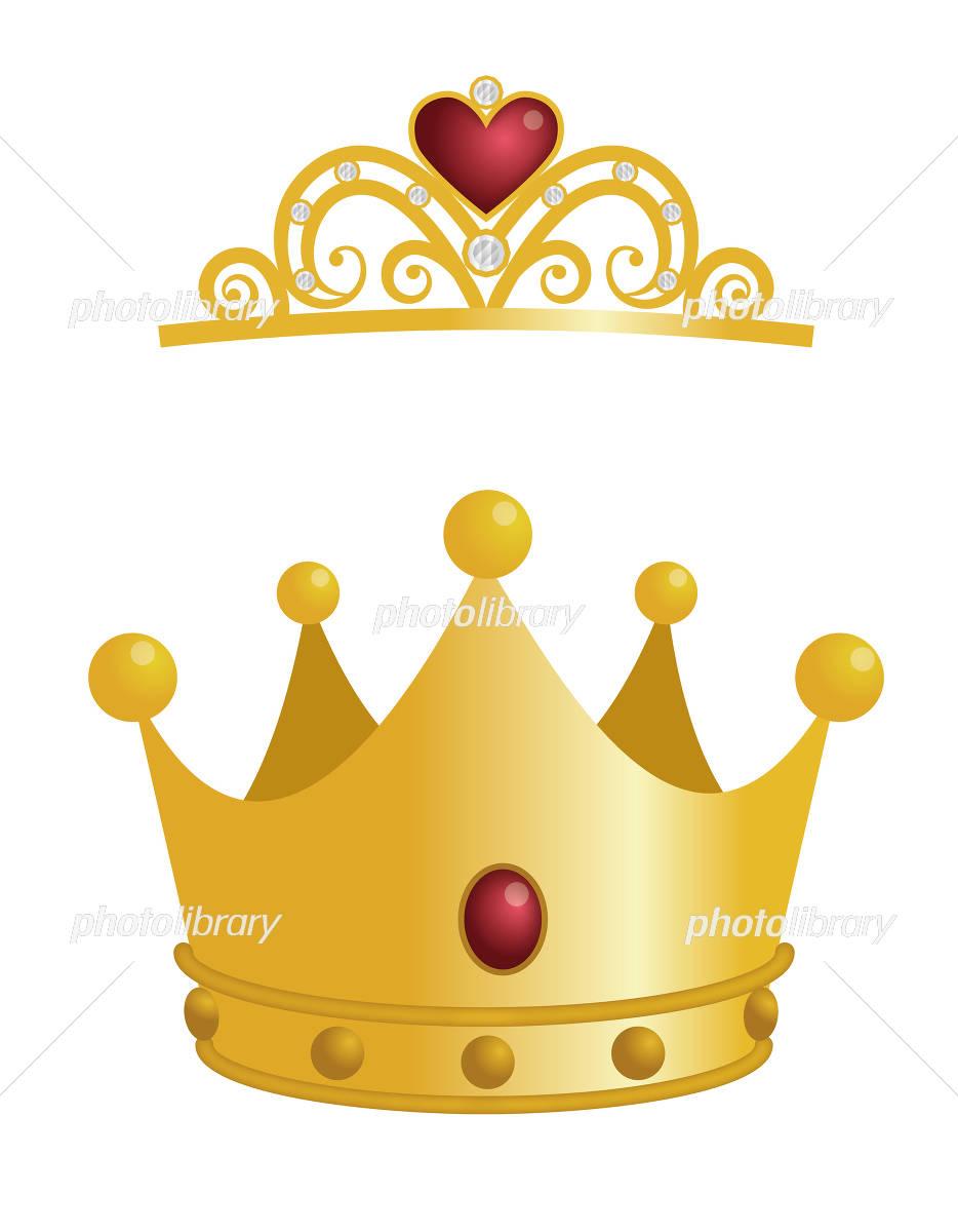 王冠とティアラ イラスト素材 4515461 フォトライブラリー