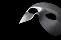 Silver mask Stock photo [4506883] Your