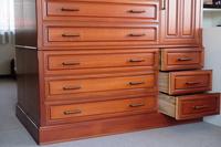 Chest of drawers of cherry wood Stock photo [4508856] Closet