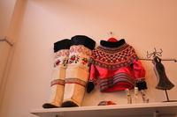 Inuit indigenous ethnic costume Greenland Stock photo [4509902] National