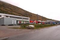 Town of Kangerlussuaq in Greenland Stock photo [4509907] Kangerlussuaq