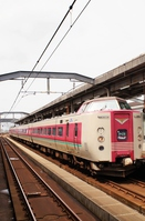 Hakubi Line 381 system limited express Yakumo Stock photo [4513925] Shimane