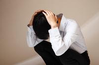 Despair, anxiety, headache Stock photo [4515401] despair