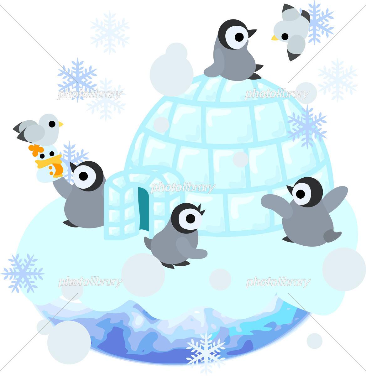可愛い赤ちゃんペンギンのイラスト イラスト素材 4585611 フォト