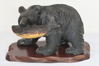 Wood carving of the bear Stock photo [4583756] Wood