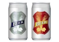 Cans of beer 2 pcs set [4584058] draft