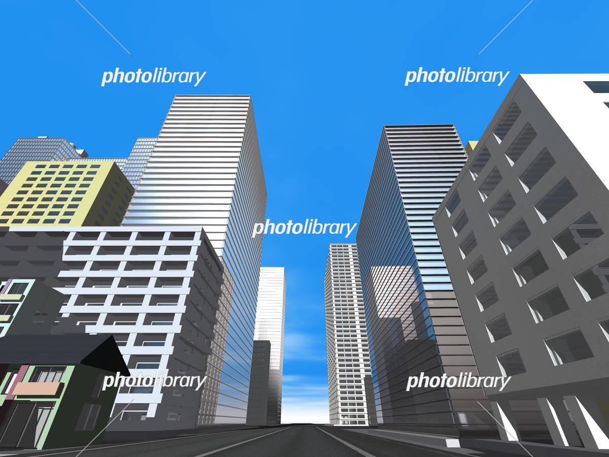 ビル群 イラスト素材 4648924 フォトライブラリー Photolibrary