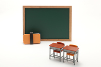 Learning desk blackboard Classroom image Stock photo [4647218] Learning