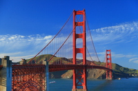 The Golden Gate Bridge Stock photo [4648582] The