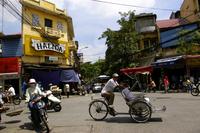 Vietnam Hanoi cyclo Stock photo [151777] Vietnam