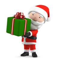 Santa Claus gift [4710835] Christmas