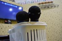 Karaoke microphone Stock photo [4803274] Karaoke