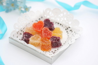 Heart of fruit jelly Stock photo [4894027] White