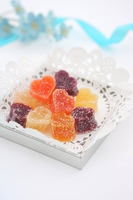 Heart of fruit jelly Stock photo [4894029] White