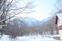 戸隠の雪景色