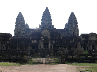 Angkor Wat from the back Stock photo [5093070] Back
