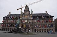 Antwerp City Hall Stock photo [5093942] Belgium