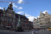 Antwerp City Hall Stock photo [5093944] Belgium