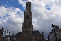 Bell Tower Bruges Stock photo [5093952] Belgium