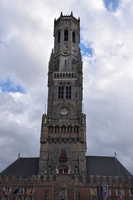 Bell Tower Bruges Stock photo [5093955] Belgium