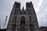St. Michel Cathedral Stock photo [5093967] Belgium