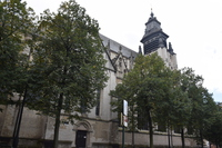 Notre Dame de la Chapelle Church Stock photo [5093974] Belgium