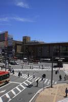 長野駅前交差点
