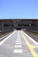 長野駅の歩道橋