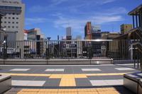 長野駅 歩道橋