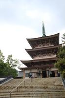 善光寺 三重塔