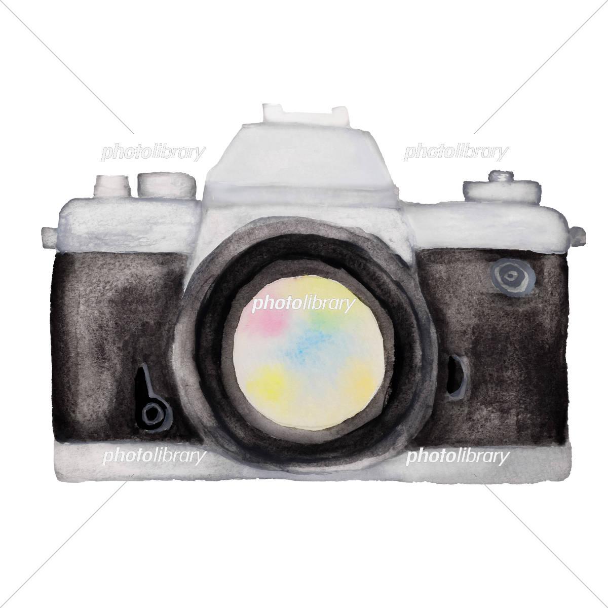 一眼レフカメラ イラスト素材 [ 5187101 ] - フォトライブラリー