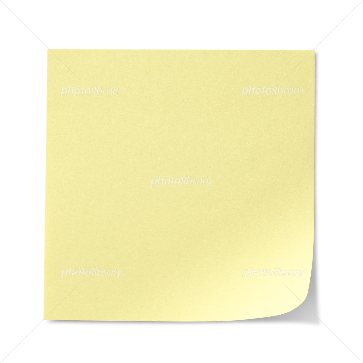 黄色の付箋紙 写真素材 5188581 フォトライブラリー Photolibrary