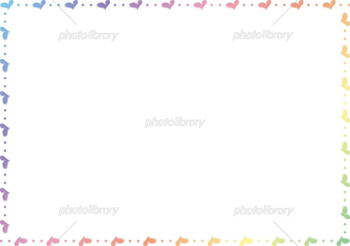 ハート フレーム イラスト素材 [ 5287223 ] - フォトライブラリー