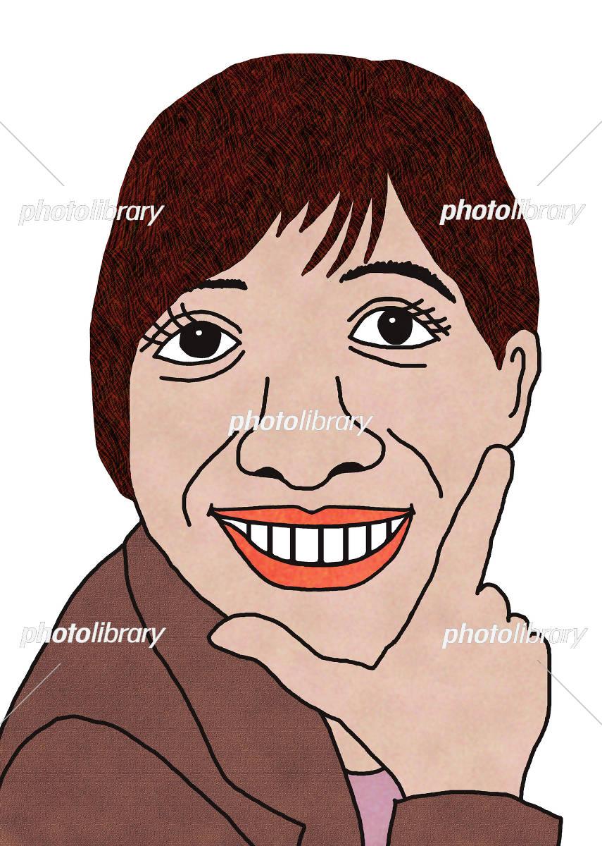 ショートカットの女性 イラスト素材 5288025 フォトライブラリー