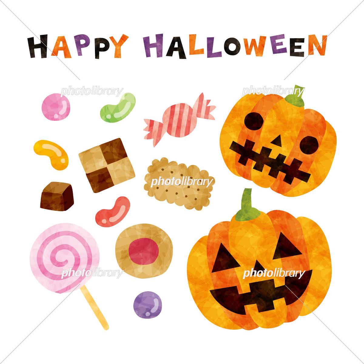 ハロウィン お菓子 イラスト素材 5290084 無料 フォトライブラリー