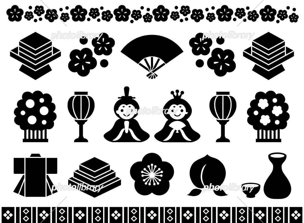 ひな祭り 広告 イラスト イラスト素材 5366440 フォトライブラリー