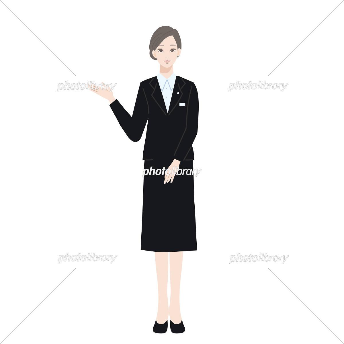 スーツ 女性 イラスト イラスト素材 5373791 フォトライブラリー