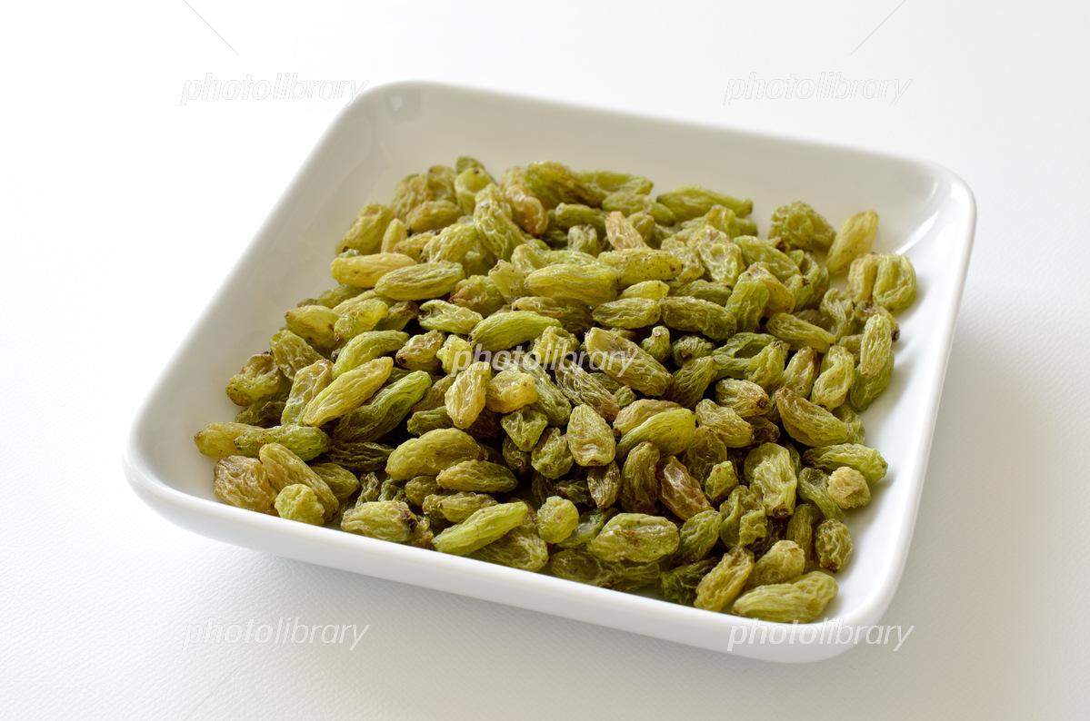 Green raisins Photo