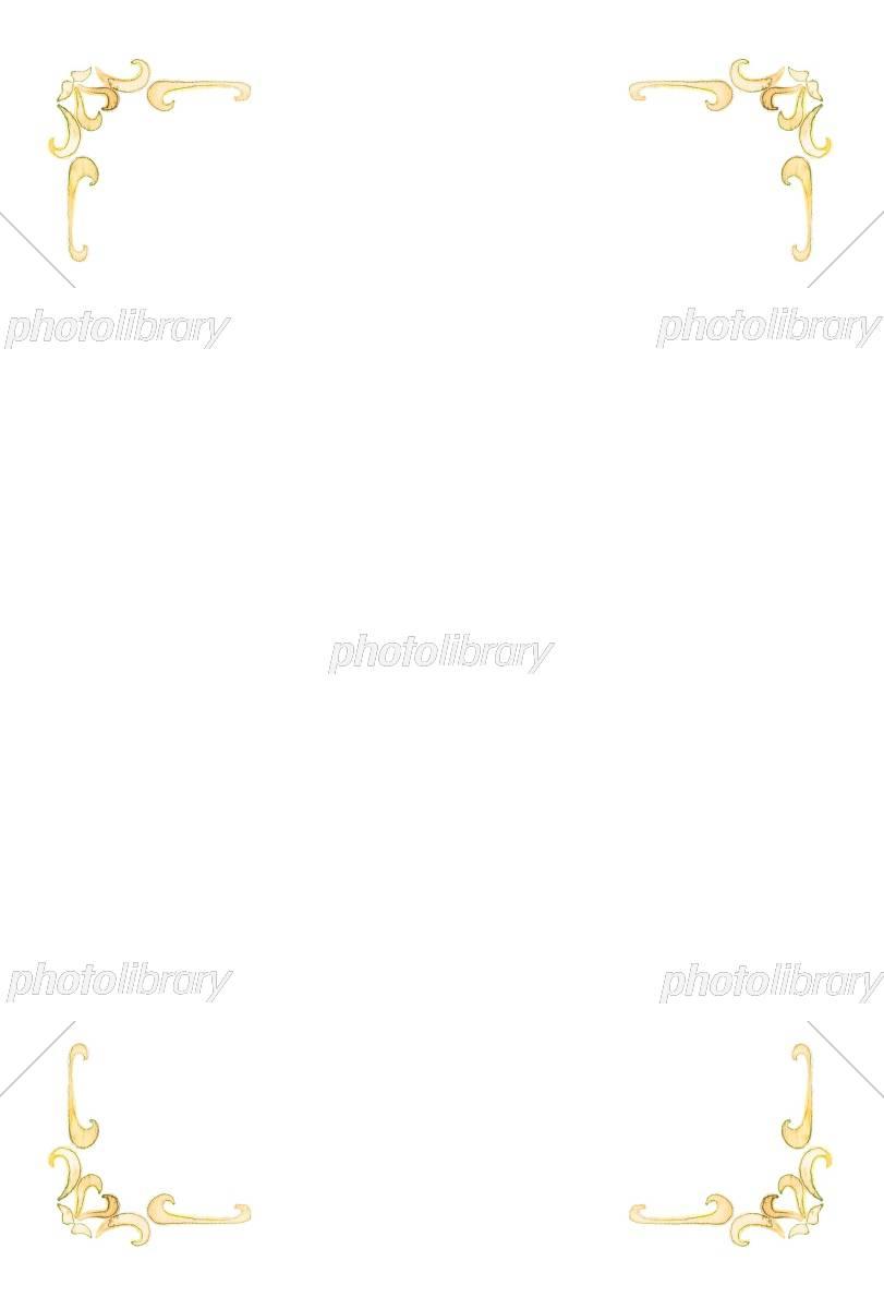 アンティークフレーム イラスト素材 [ 5428167 ] - フォトライブラリー