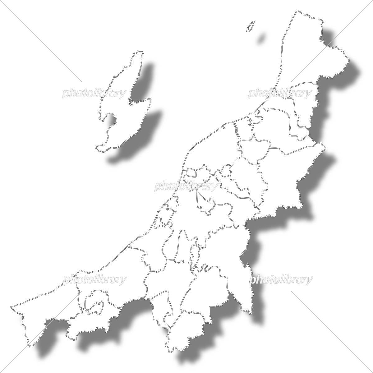 新潟 地図 イラスト素材 5429688 フォトライブラリー