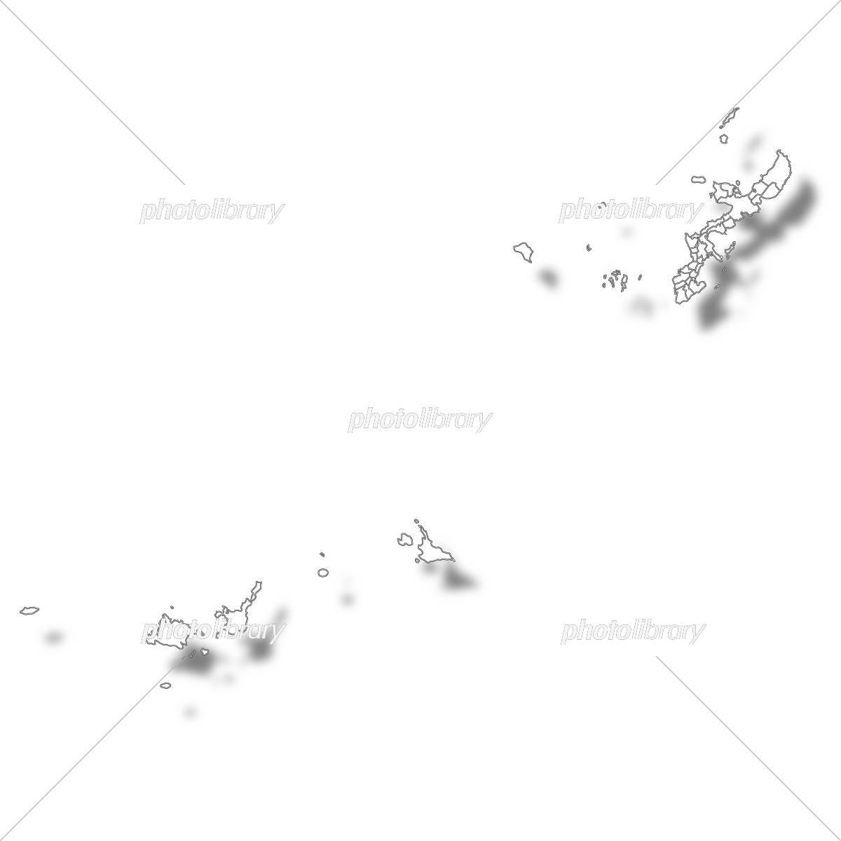 沖縄 地図 イラスト素材 5429691 フォトライブラリー Photolibrary
