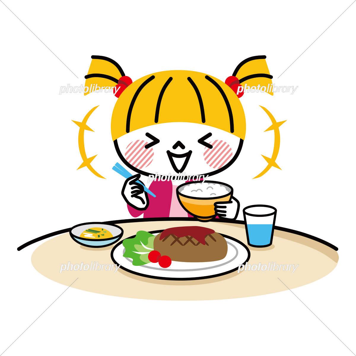 子供 食事 洋食 イラスト素材 5429933 フォトライブラリー