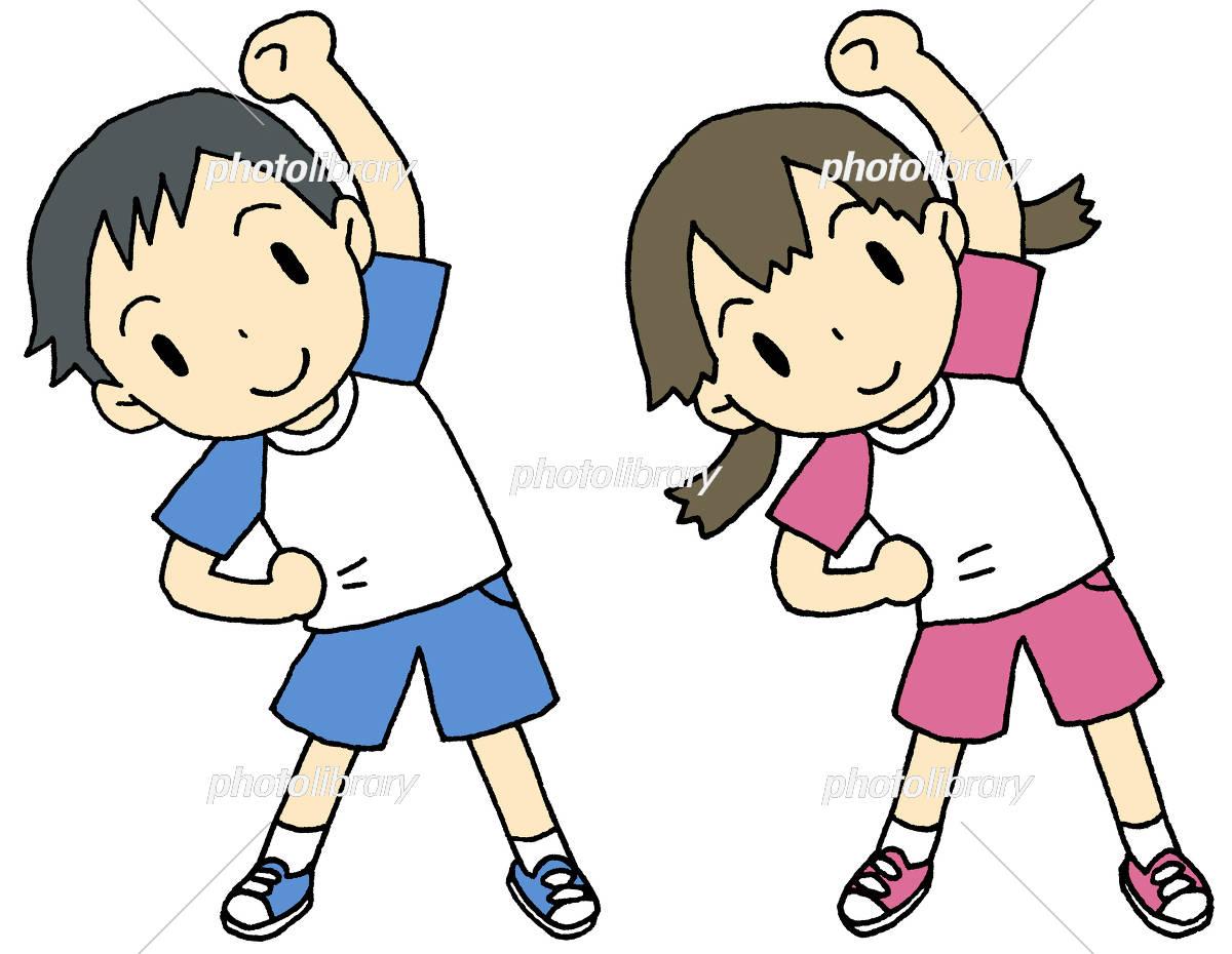 ラジオ体操 子供 イラスト素材 5461561 フォトライブラリー