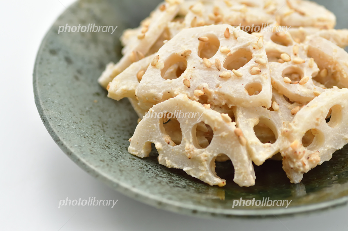 Lotus root taste Photo