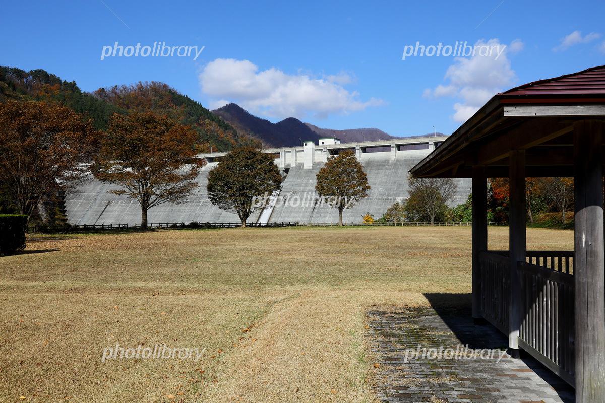 Shiratori River Dam Photo