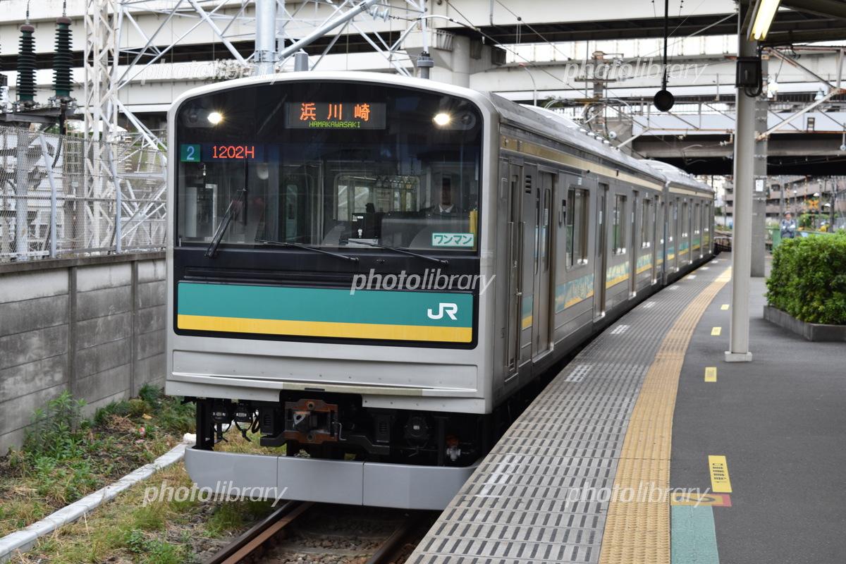 南武線浜川崎支線 205系1000番台...